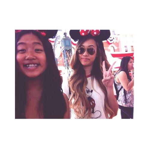 Disneyland yesterday (: