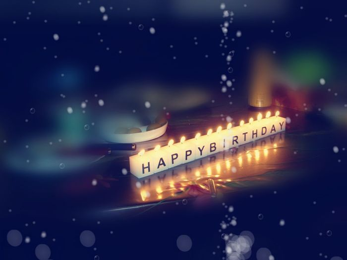 Happy Birthday 🌹 Happy Birthday Candles Candle Light Candle Lighting  Celebration Simple & Cute  Art Is Everywhere TCPM Break The Mold EyeEmNewHere