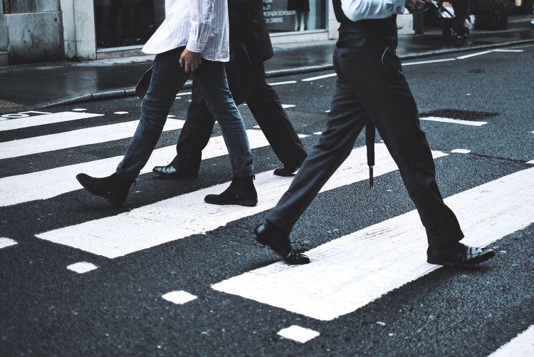 City Road Road Marking Crosswalk Street Sign Transportation