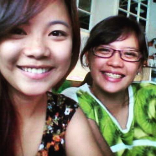 Lunch with sis. Family Soon HAHA