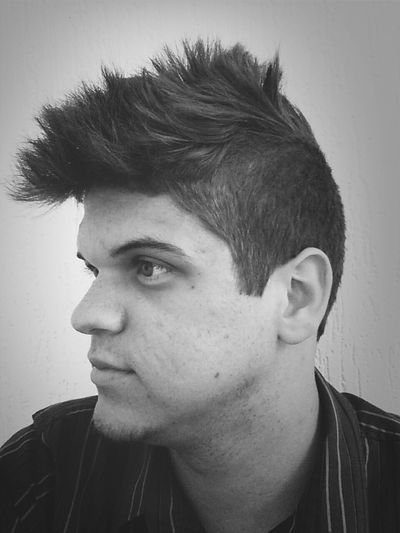 Mohican Hair Style Bw