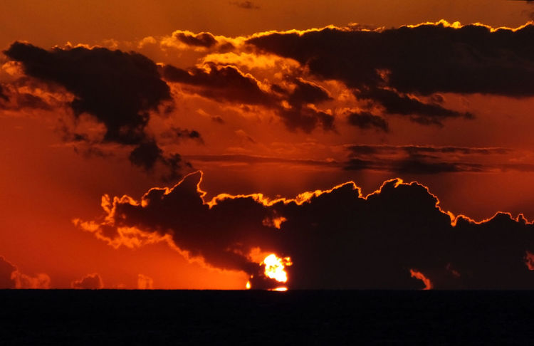 Beauty In Nature Cloud Cloud - Sky Cloudy Cyprus Dark Dramatic Sky Idyllic Landscape Majestic Moody Sky Nature No People Non-urban Scene Orange Color Outdoors Remote Scenics Sky Stunning Sunset Sun Sunset Tranquil Scene Fine Art
