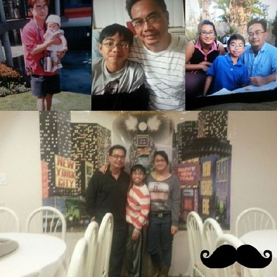 happy fathers day to my old man who's taken care of me and my little bro as a single parent ever since we were born ♡ thank you for everything :D happy fathers day also to the single mommas (: Happyfathersday
