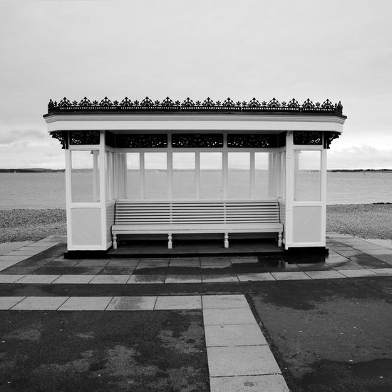Unoccupied Architecture Sky Built Structure No People Day Outdoors Land Water Beach Cloud - Sky Absence Blackandwhite Black And White
