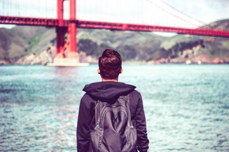 Bridge of gold Hostravels Canonphotography California California Dreaming Golden Gate Bridge San Francisco
