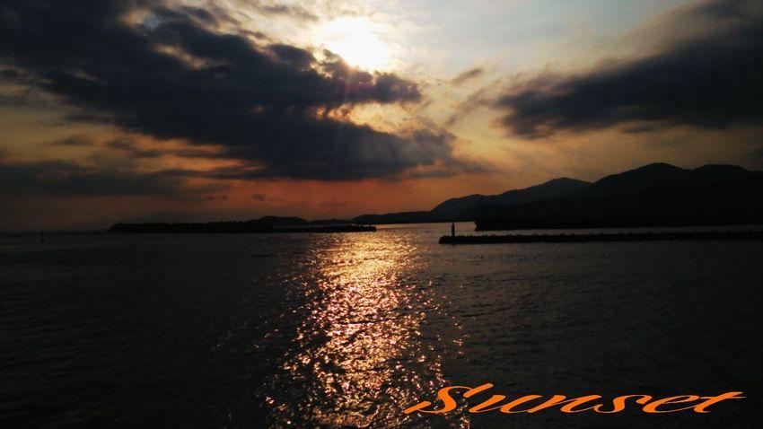夕凪 Miyazaki Kushima Sunset Relaxing Yuka  Enjoying Life