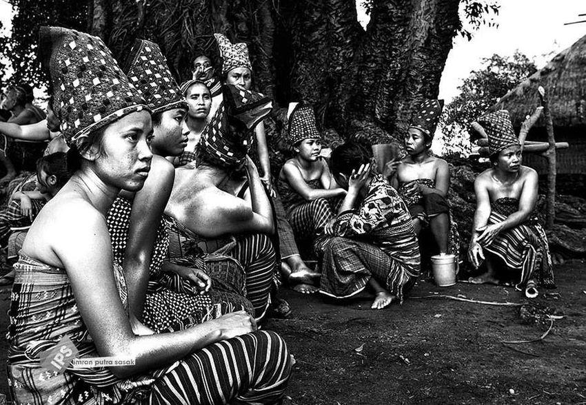 Bayan Traditional Village Imranputrasasakgalery Culture Lombok-Indonesia Potrait