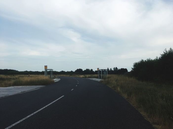 Road Sky The