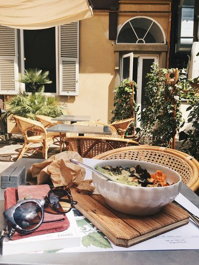 Lunch Salad Architecture Plant Food And Drink Potted Plant Food Day Table Bowl Building Freshness Healthy Eating