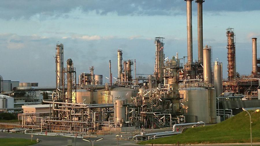 Industrial Building Against Sky