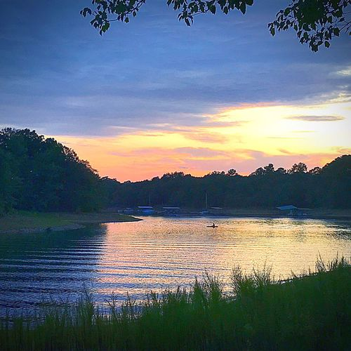 Water Sunset Scenics Beauty In Nature Sky Tranquil Scene Reflection Outdoors Cloud - Sky No People Travel Destinations Landscape Camping Rv The Week On EyeEm