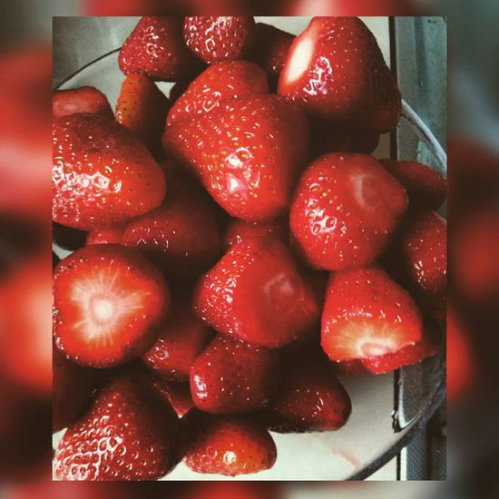 Strawberry Red Fruits Najlepsze Summer2015 Vacation Time
