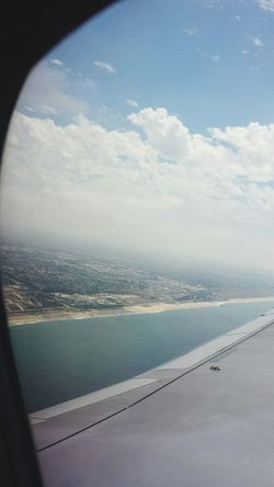 Ocean Waves California From An Airplane Window RePicture Travel From The Sky Window View TheViewFromUpHere Goodbye Airplaneview