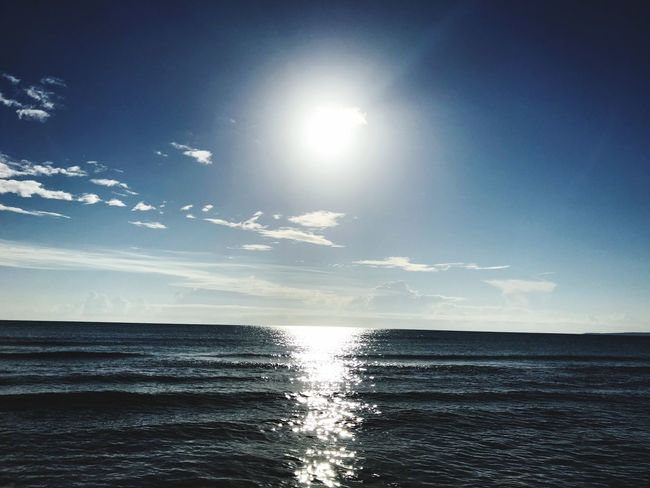 Here come the sun ☀️ Sky Water Sea Scenics - Nature Beauty In Nature Tranquility Tranquil Scene