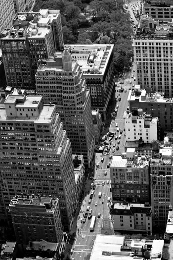 Arial view of the New York City streets America Architecture Arial Arial Shot Big Apple Black & White Black And White Blackandwhite City Cityscape Cityscapes Manhattan Manhattan New York New York New York City New York From Above New York Streets New York ❤ Newyork Newyorkcity Newyorker Skyscraper Skyscrapers Tall - High USA