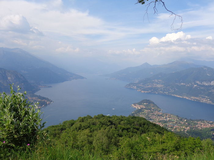 Beauty In Nature Como Lake Day Lake Landscape Lecco Lake Monte Nuvolone Mountain Nature No People Outdoors Scenery Scenics Sky Tranquility Tree Water