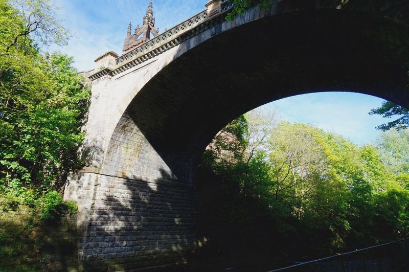 Kelvingrove Scotland Glasgow  Architecture Bridge Bridges Riverside