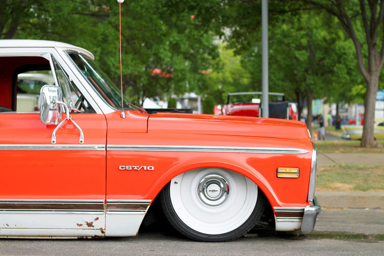 Nashville EyeEmNewHere Truck Contest Kayak Nashville Canoe The Graphic City Truck Show Car Show Dogs Orange EyeEm Selects Red Transportation Car Mode Of Transport Outdoors Rescue Speed Tree Day No People Fire Engine