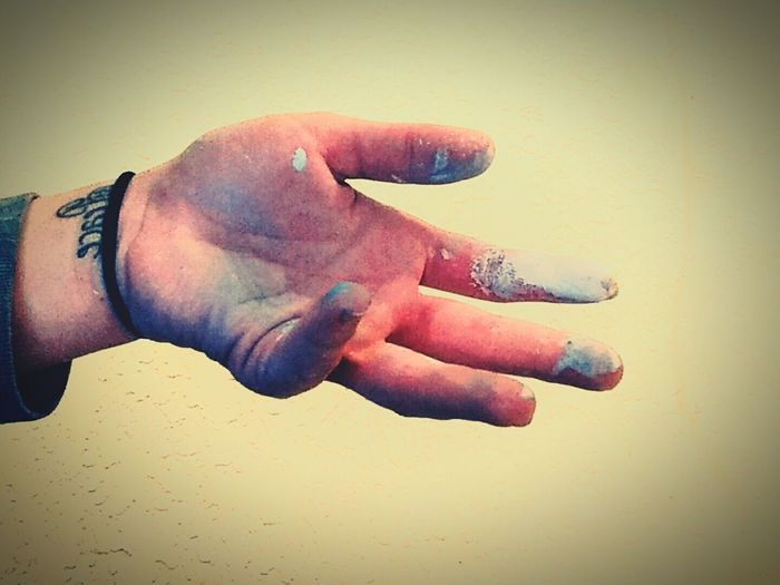 Artists Painting Creating Paint On Hands ArtInMyLife