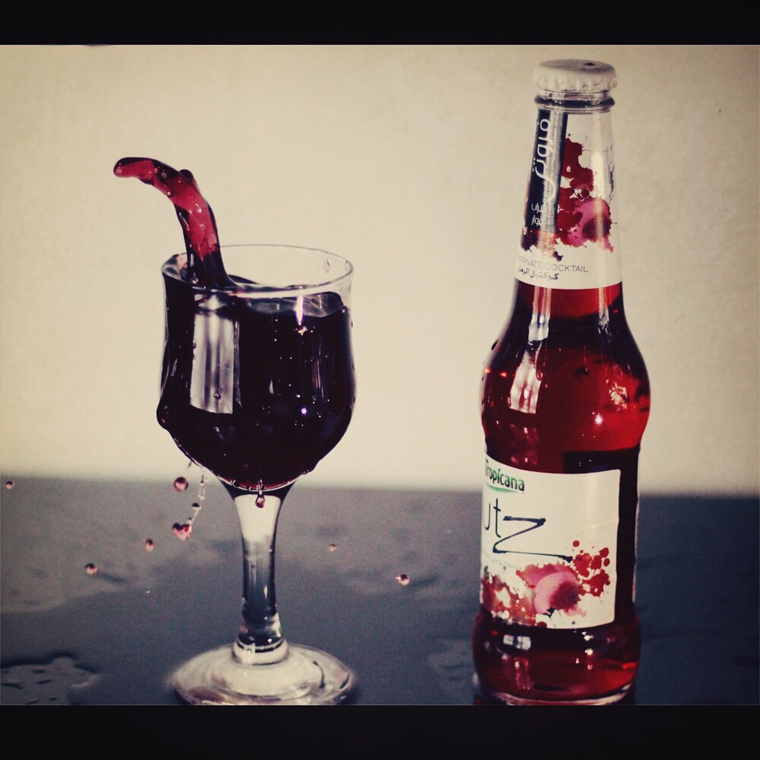 food and drink, drink, drinking glass, indoors, refreshment, table, still life, freshness, glass - material, glass, close-up, alcohol, transparent, bottle, drinking straw, red, wineglass, cocktail, no people, juice
