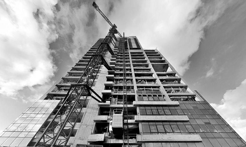scrape the sky Building Exterior Skyscraper Structures & Lines The Architect - 2018 EyeEm Awards