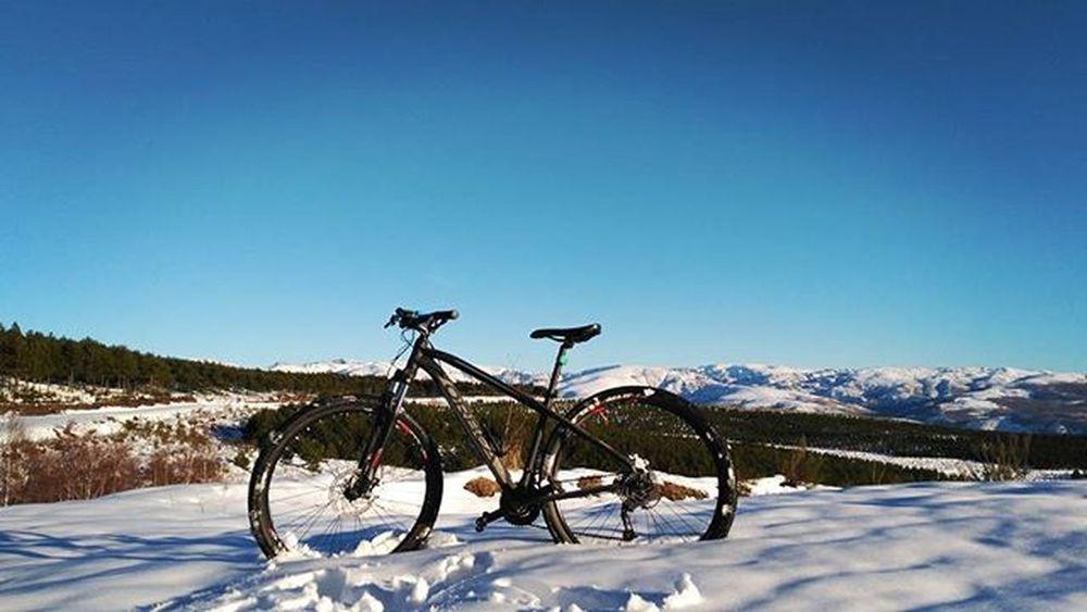 Rutaza! BTT MTB Orbea Orbeaterritory Trevinca Galiciacalidade Pequenoparaiso SerradoEixe Paradise Snow Mountains Galicia