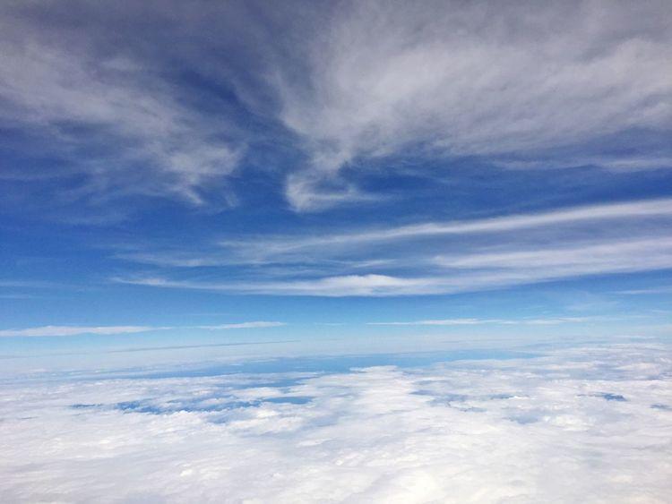 Sky And Clouds Summer Sky And Clouds Clouds And Sky Skyscraper From An Airplane Window