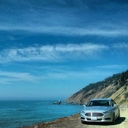 Ford Fusion Fordfusion Beach Adventure Coast Pacificcoast California Adventure Ocean Oceanscape Landscape