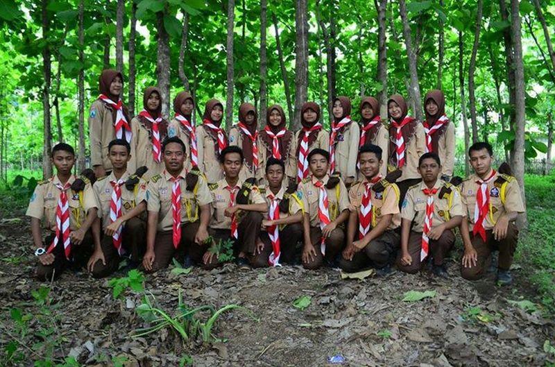 Collected Community Islamic Senior High School 1 Madiun Scout organisation Bantara