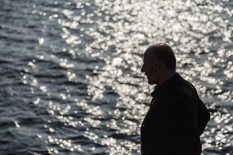 Bosporus Holiday Istanbul Reizen Silhouette Turkije Water Zon