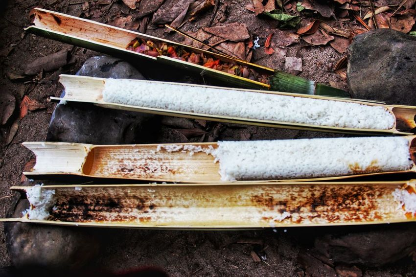 Outdoor Photography Outdoors Truckinglife Forest Floor Lifestyle Tribe Life Bamboo - Material Bamboo Food Ramdomclick Samsungphotography S7 Edge Photography Rice In Bamboo Bamboo Container EyeEmNewHere Crafted Beauty EyeEm Ready   Food Stories