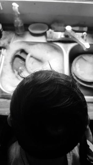 Through a mother's eyes. Moms Of Eyeem Indoors  Close-up Human Body Part Occupation Working Human Hand
