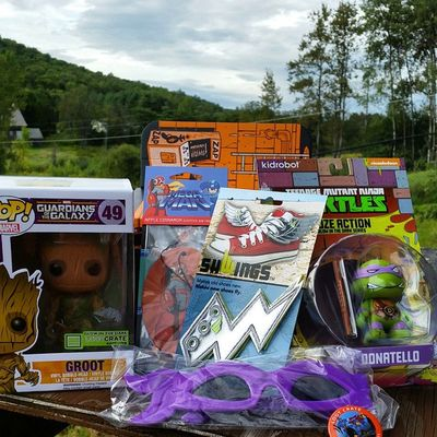 Today is the best Loot Crate Day ever. You don't understand, like, EVER! Nerdgirlproblems Lootcrate Lootcrateaugust2014 Heroes awesome groot tmnt awesome youjelly