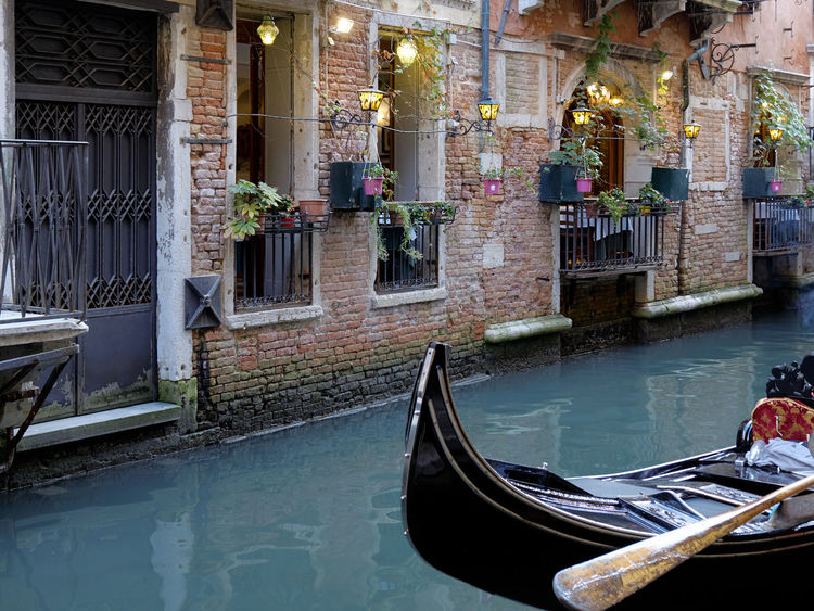 Ambient Aqua Aquamarine Balcony Boat Canal Evening Exploration Fantastic View Flowerpot Latern Lovely Padle Relaxing Sightseeing Tour Tourism Tourist Attraction  Travel Travel Destinations Typical Water Gondola Welcome EyeEmNewHere EyeEm Selects