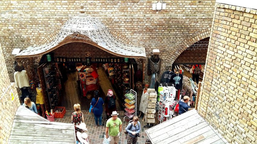 Camden Town Stable Markets London High Angle View Real People Building Exterior Architecture Leisure Activity Crowd Travel Destinations England🇬🇧 Neighborhood Map EyeEm LOST IN London Postcode Postcards