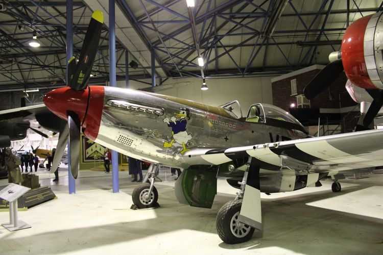 P 51 Mustang North American Ww2 Fighter Air Vehicle Transportation Airplane Mode Of Transportation Military Airplane Hangar Indoors