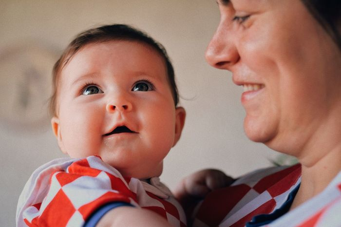 #worldcup2018 #croatia 🇭🇷 World Cup 2018 The Week on EyeEm Childhood Headshot Child Portrait Males  Baby Babyhood Bonding Togetherness Close-up Family World Cup 2018