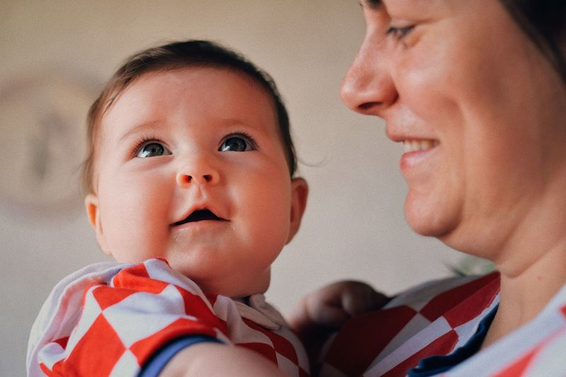 #worldcup2018 #croatia 🇭🇷 World Cup 2018 The Week on EyeEm Childhood Headshot Child Portrait Males  Baby Babyhood Bonding Togetherness Close-up Family World Cup 2018 Human Connection