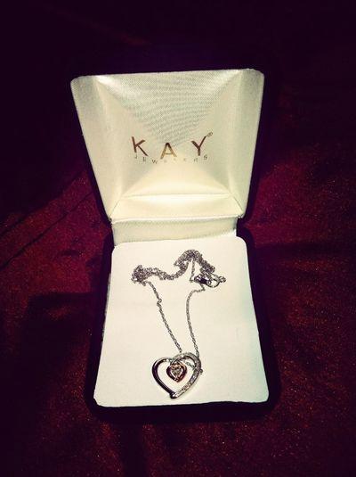 """ The Necklace My Boyfriend Gor Me (:"