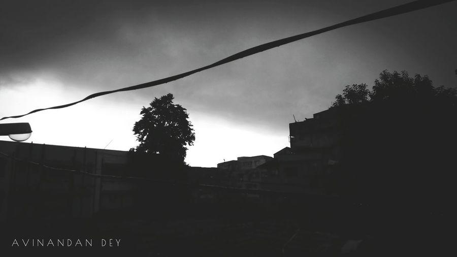 Gloomy dusk