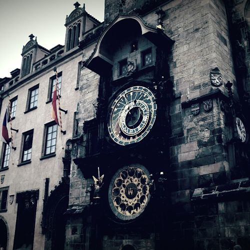 Astronomicclock Prague Czech Republic Cold Days In Prague Check This Out Beautiful Place Holiday Travelling Traveling Tiktak