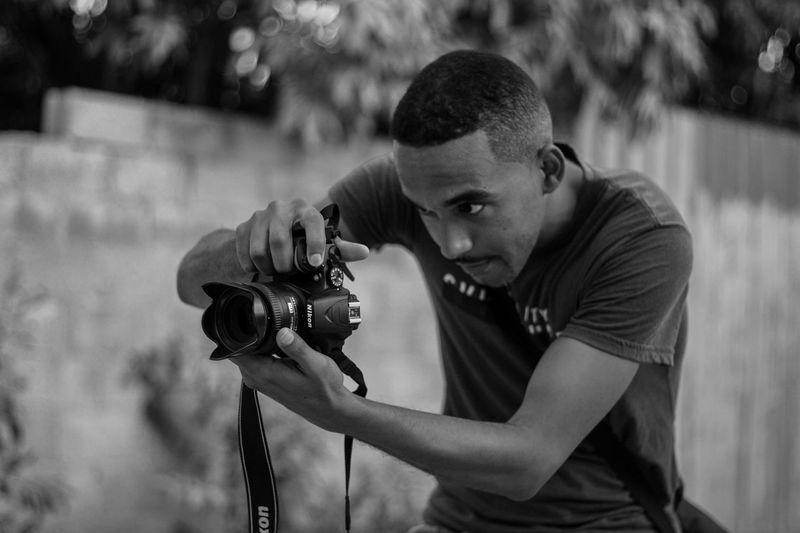 Nikon capturing