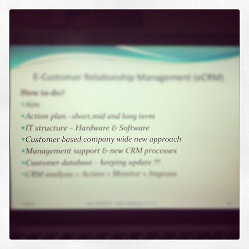 Study Digital Marketing CRM  customer