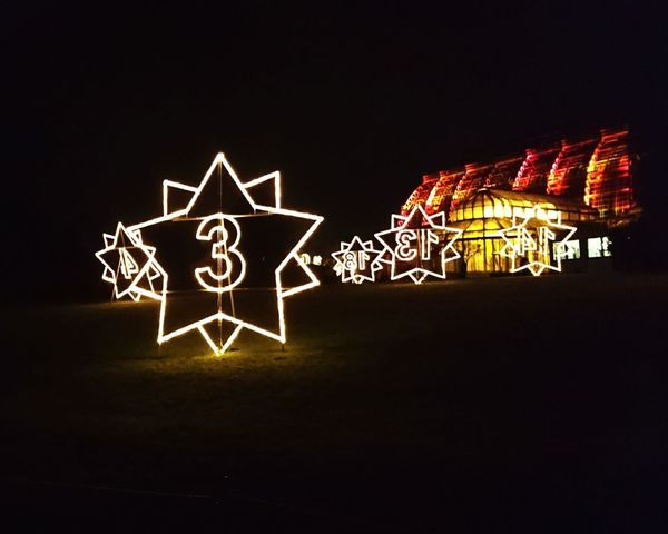 christmas lights Christmas Christmas Decoration Christmas Lights Night Copy Space Black Background No People Celebration Arts Culture And Entertainment Illuminated Outdoors