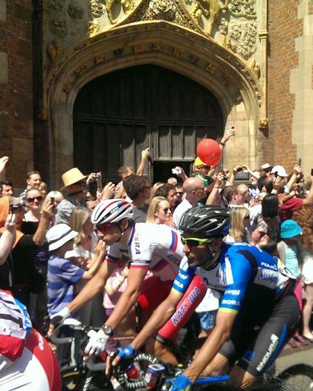 The Color Of Sport Crowd Cultures Architecture City Life Outdoors Le Tour De France Tour Cambridge