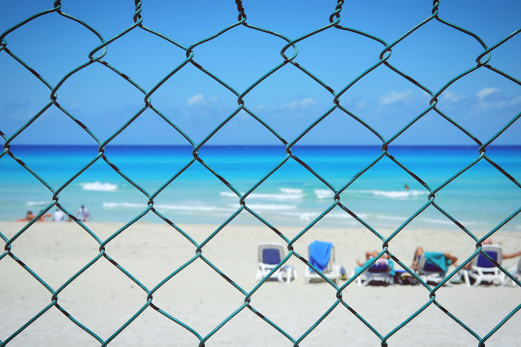 let the sunshine in Cuba Travel Varadero Background Beach Blue Blur Colour Day Fence Nature Ocean Outdoors Sea Sea And Sky Sea Life Seascape Sky Summer Sun Sunshine Tourism Water Waterfront