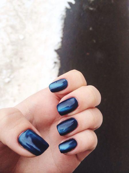 Winter LikeILYUHINA Lovegirl Nails Happy