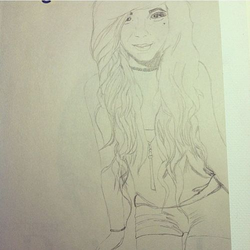 The lovely @katmassacre drew me!! So amazing! Shetalented Drewme Ifeelsospeical Eekk loveit