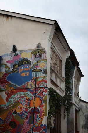 Penang Street Art Mural #color #georget #malaysia #mural #Painting #penang #penang Herritage# #Streetart Building Exterior Outdoors