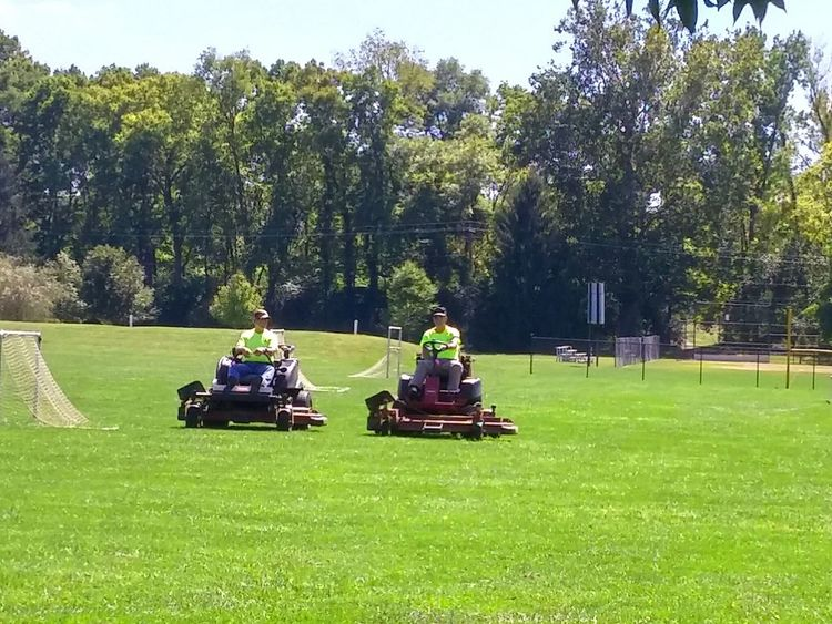 The Color Of Business Grass Lawnmower Lawn Mower Lawn Mowing Lawncare LawnMowing Cutting The Grass Park Maintenance Work Maintence Maintain Soccerfield Soccor Field Mower Springboro Ohio